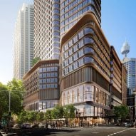 Foster + Partners reveals visuals of over-station skyscraper in central Sydney