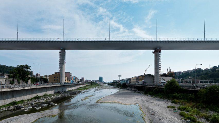 Genoa San Giorgio Bridge by Renzo Piano