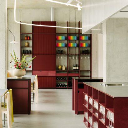Remi restaurant in Berlin designed by Ester Bruzkus Architekten