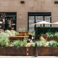 Julia Watson fills New York's Rockefeller Center plaza with native American meadow plants