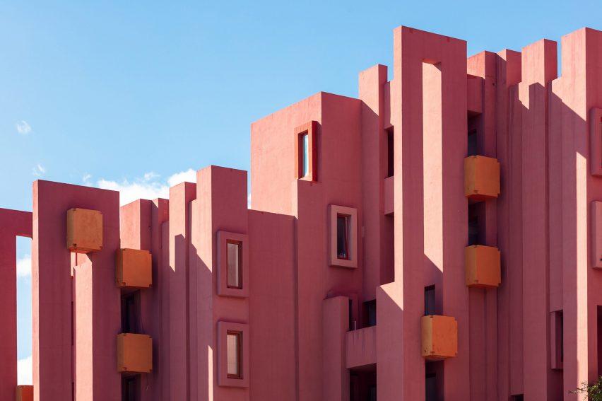 Sebastian Weiss photographs Ricardo Bofill's La Muralla Roja