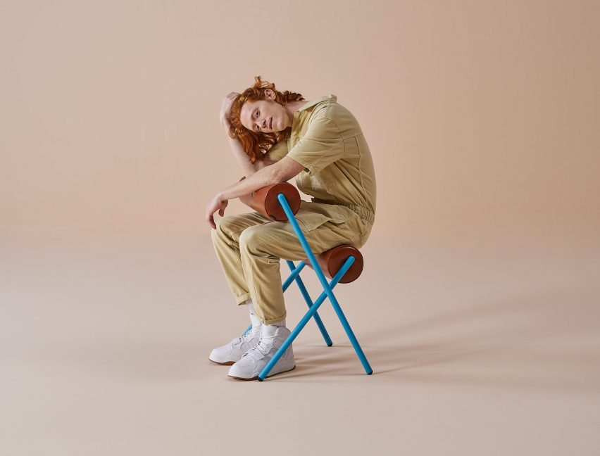 MUT Design creates sculptural Roll chairs for Sancal