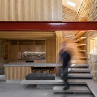 Rural community oven transformed into Portuguese holiday home