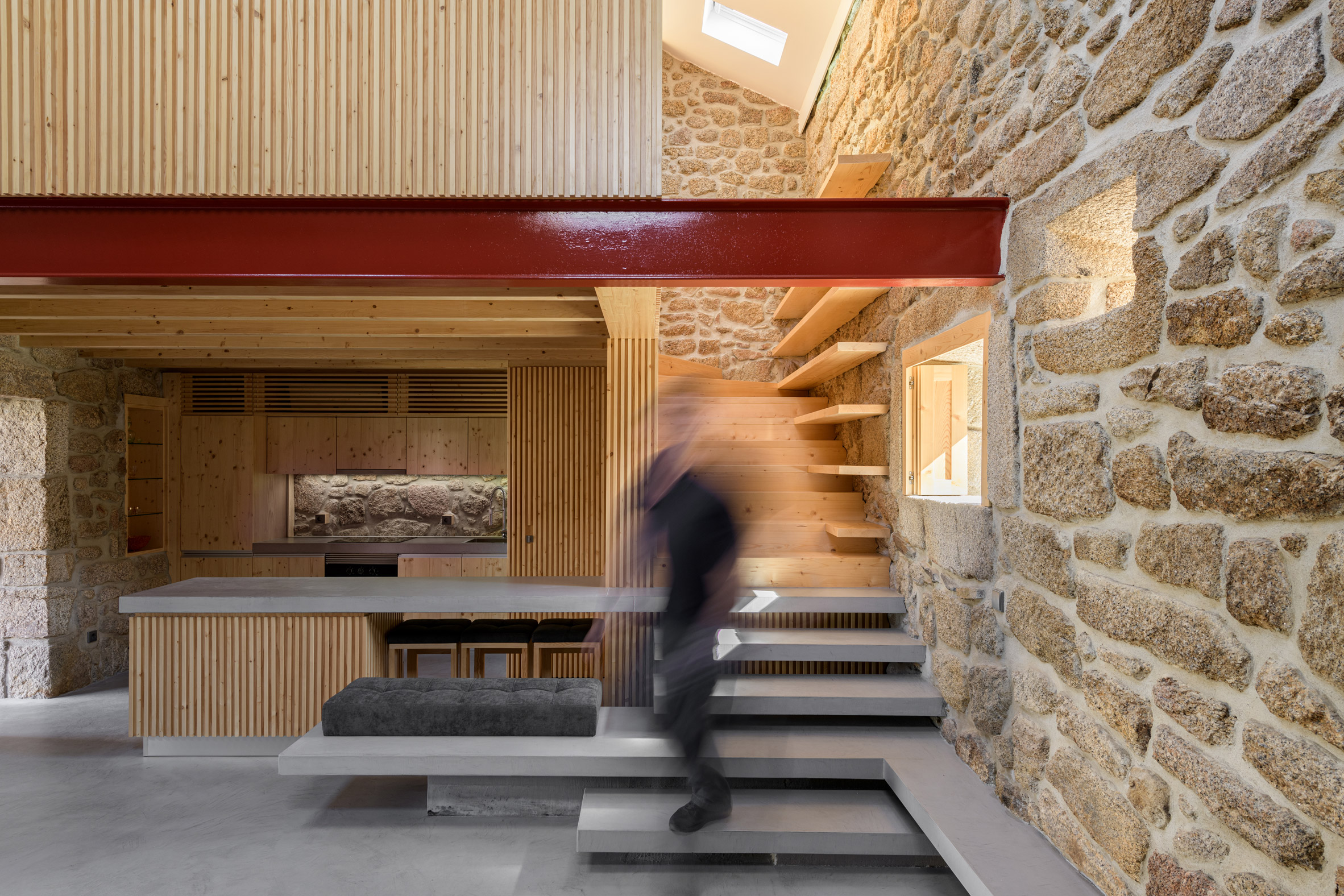 Rural House in Portugal by HBG Architects