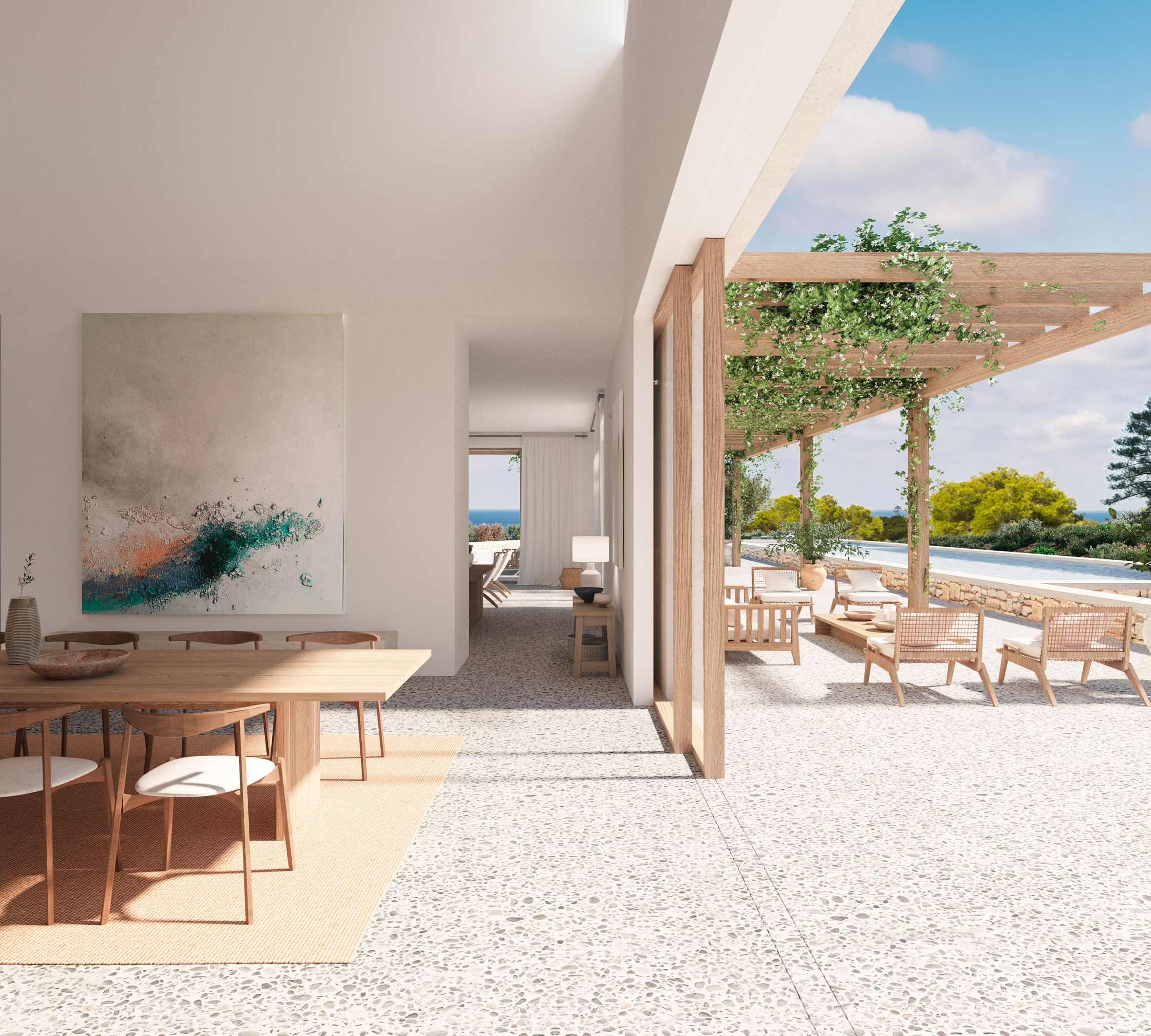 Sabina development in Ibiza
