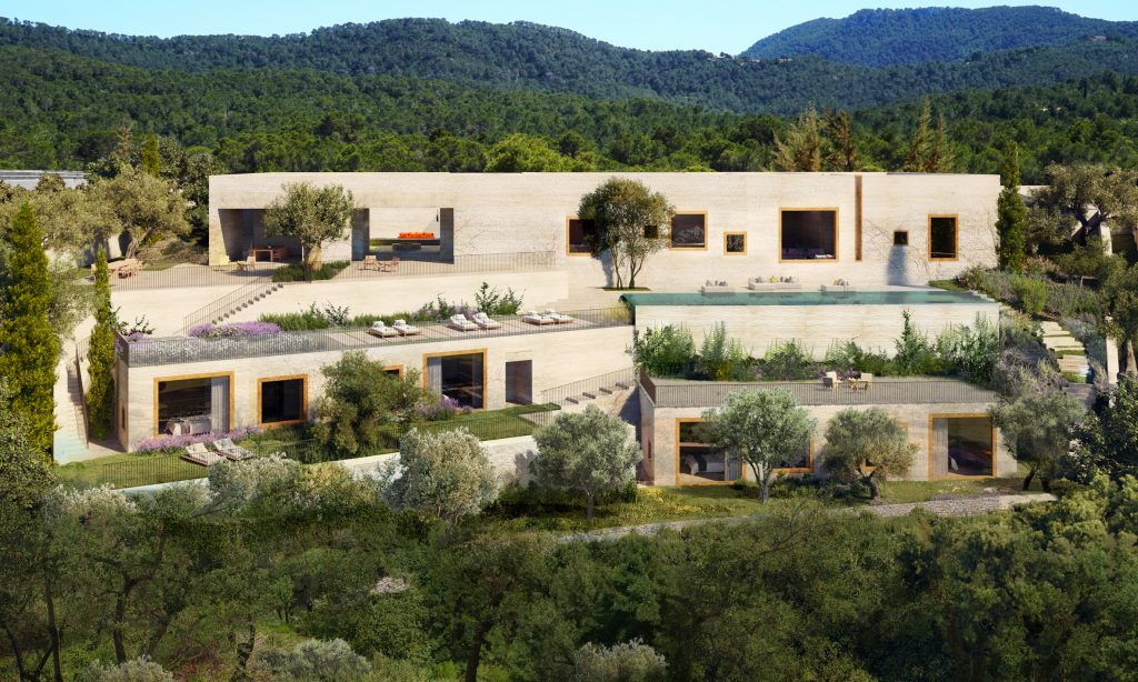 Chipperfield and Pawson design houses for Ibiza's Sabina development