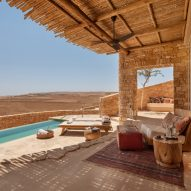 Plesner Architects builds Six Senses Shaharut hotel in the Israeli desert