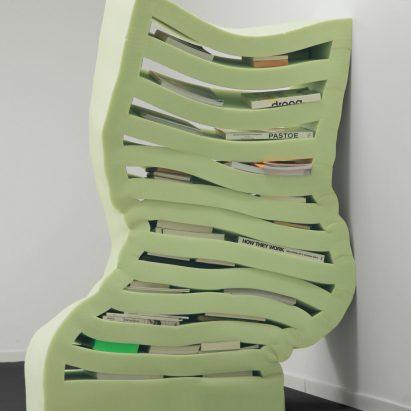 Dewi van de Klomp designs Soft Cabinets from foam rubber