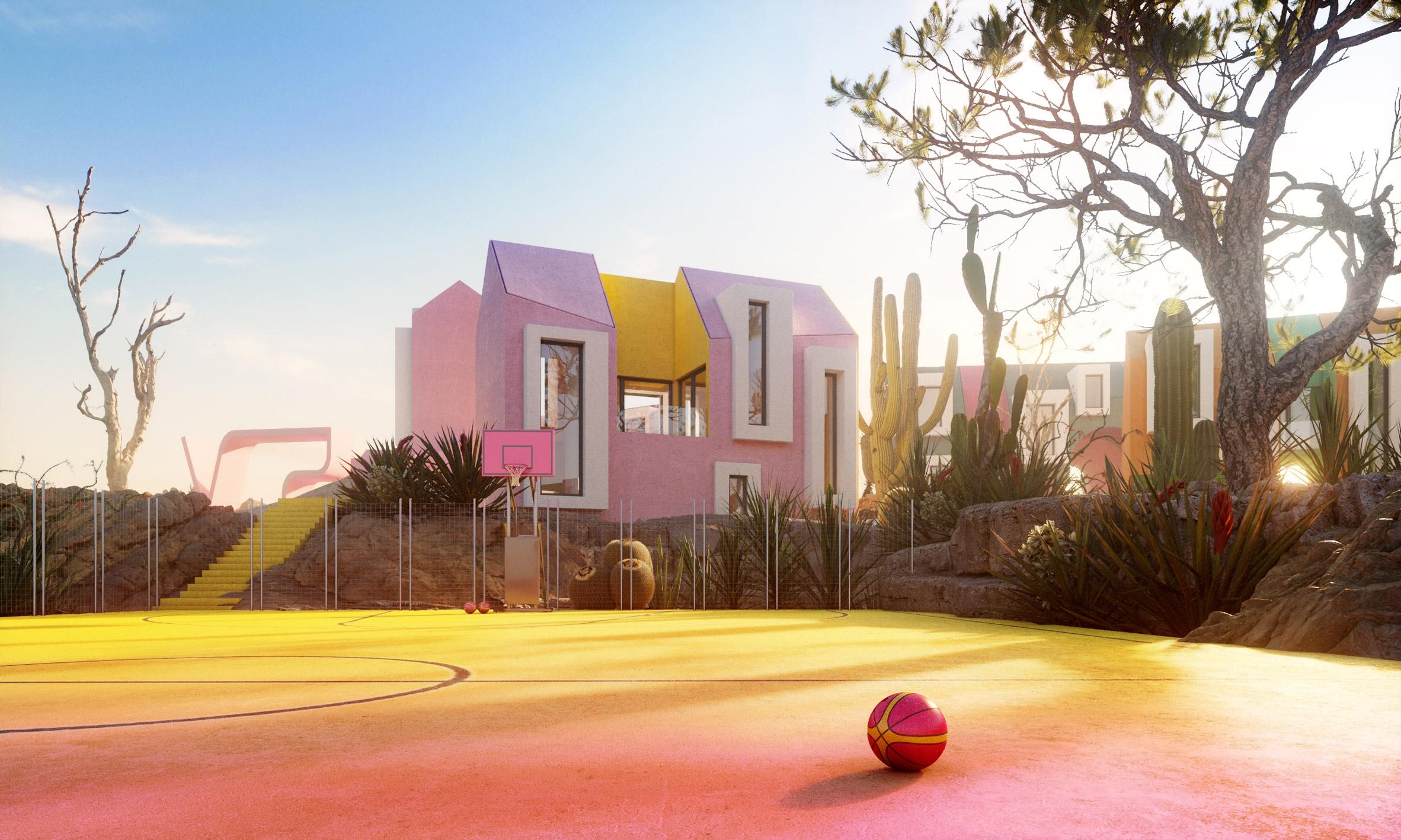 Sonora Art Village by Davit Jilavyan and Mary Jilavyan