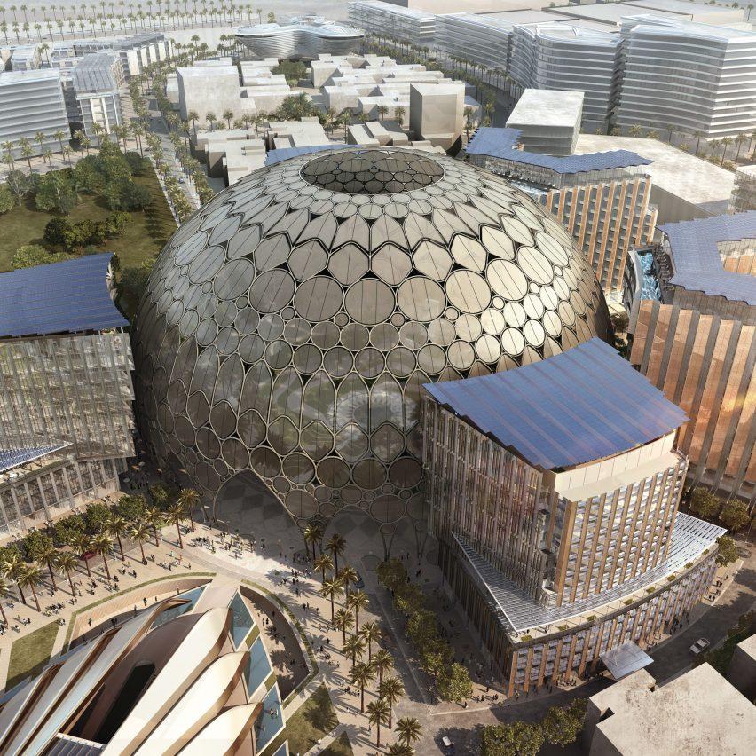 Spherical architecture: Al Wasl Plaza at Dubai Expo 2020, by Adrian Smith+Gordon Gill