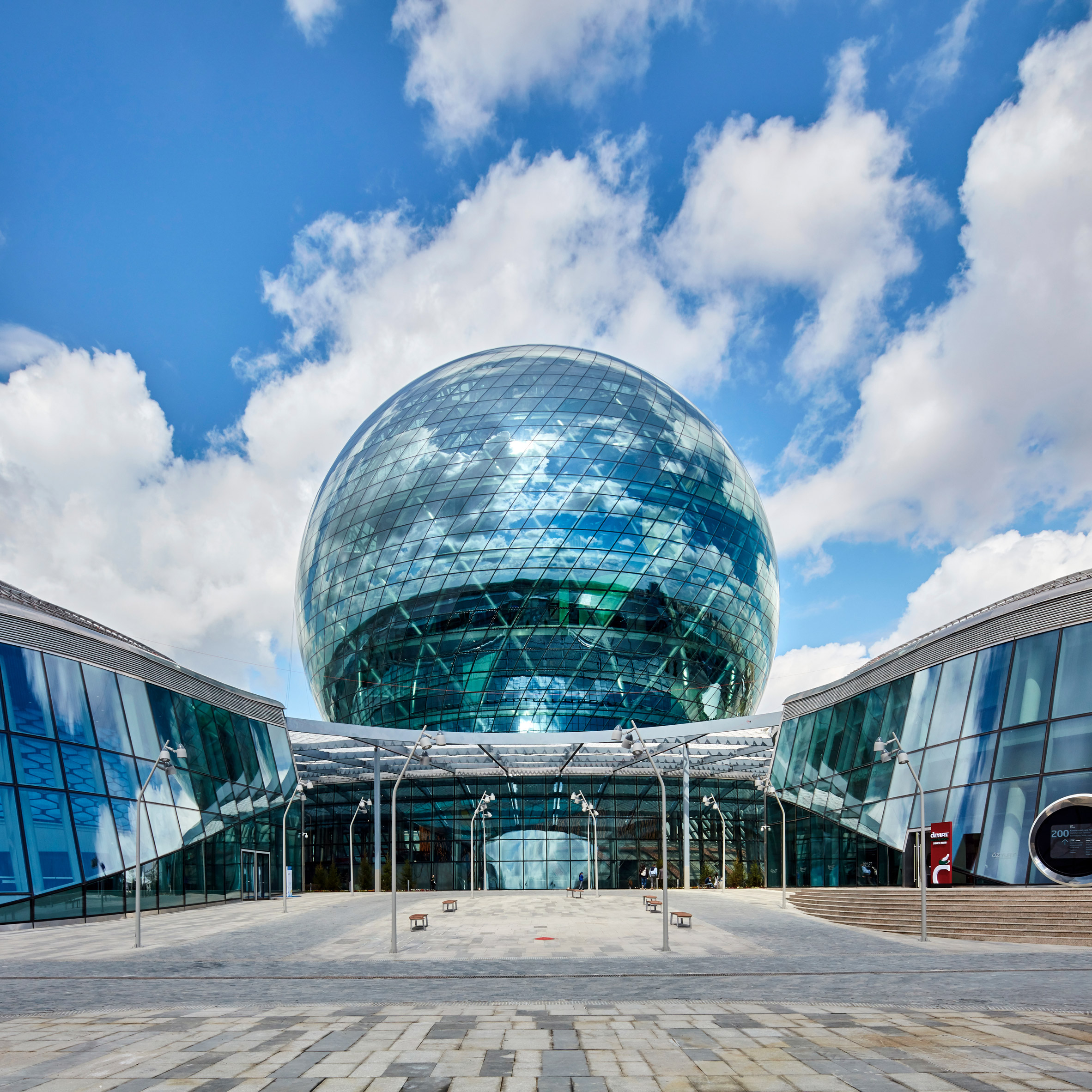 Spherical architecture: Kazakhstan Pavilion by Adrian Smith + Gordon Gill