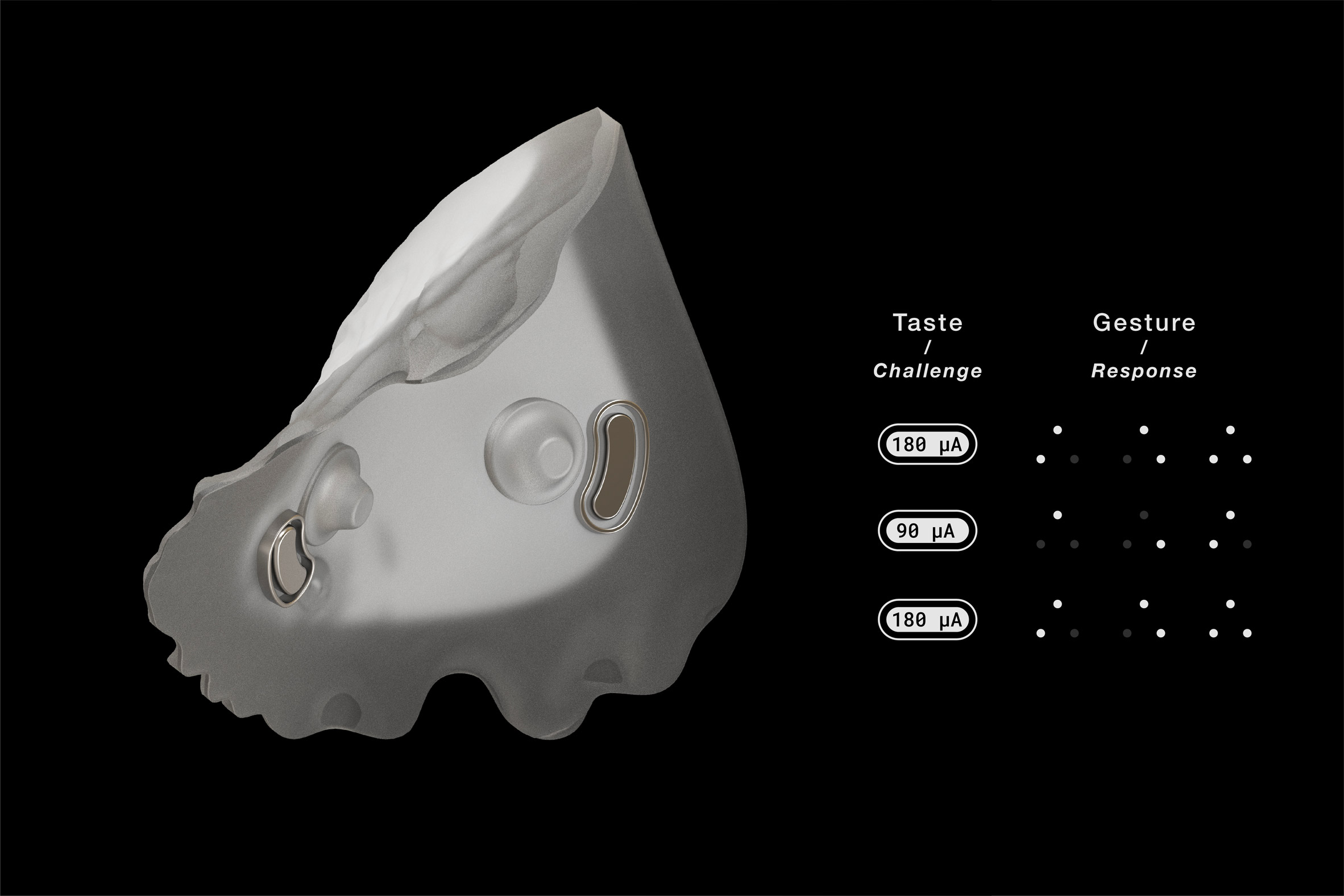 Stealth mouth recognition device by Royal College of Art and Imperial College London design graduates
