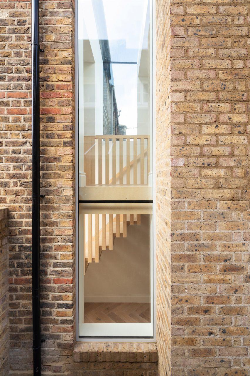 Extensão da Step House em Londres por Gray Griffiths Architects