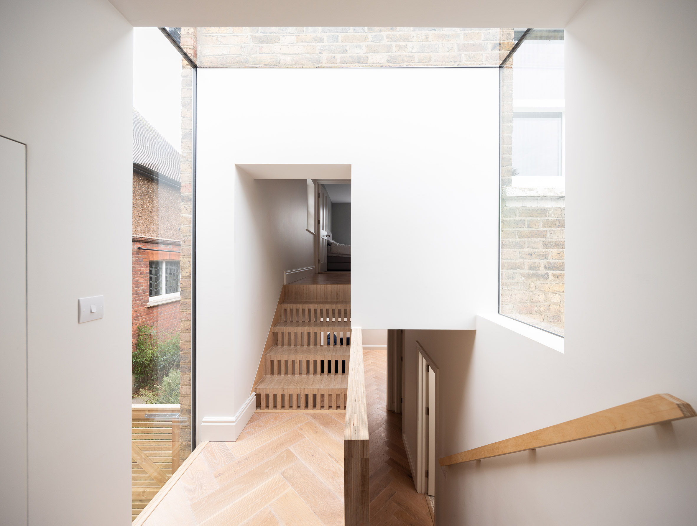 Step House extension in London by Grey Griffiths Architects
