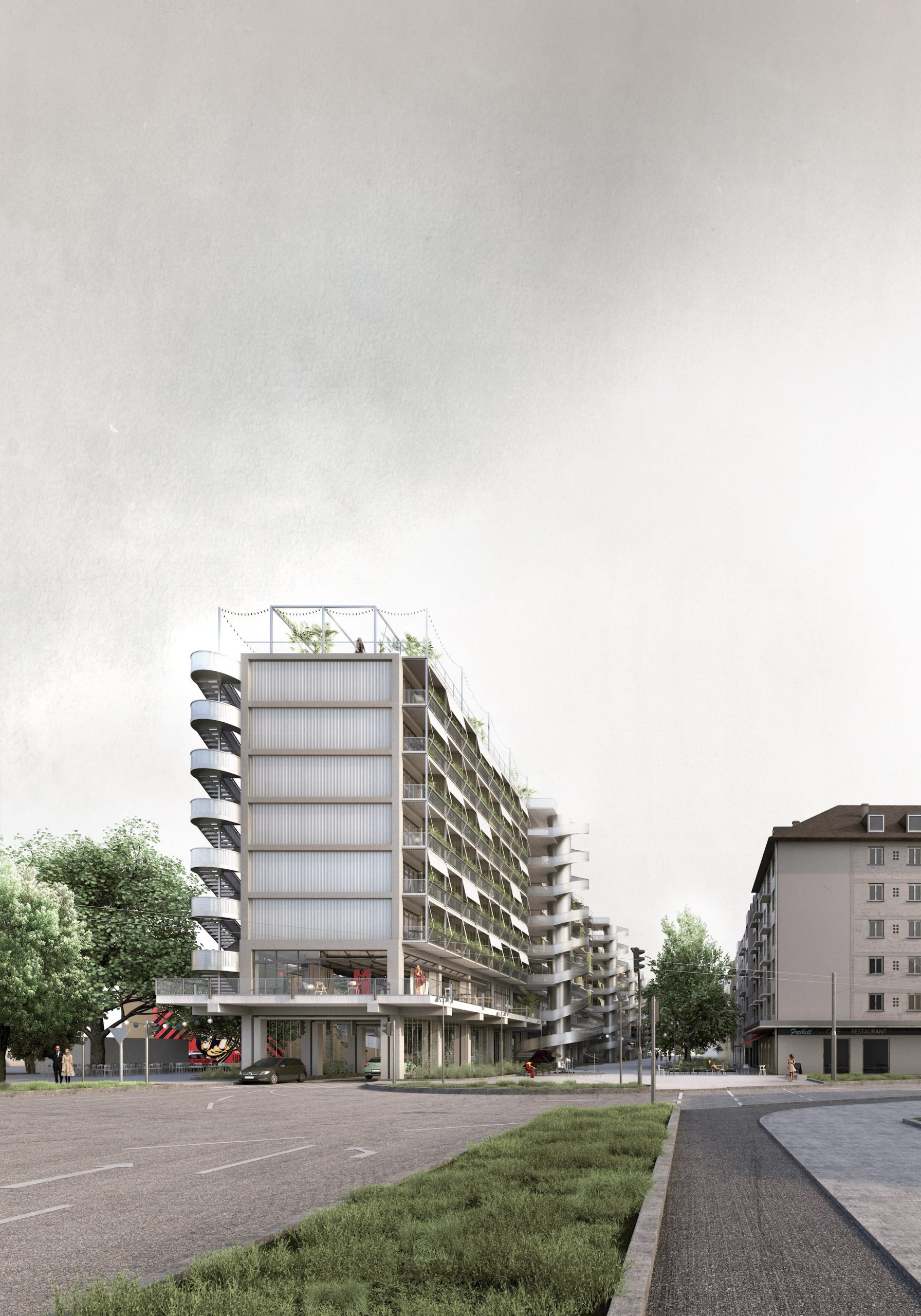 Technical University Munich students share adaptive reuse projects