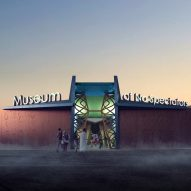 Burning Man Museum of No Spectators by John Marx