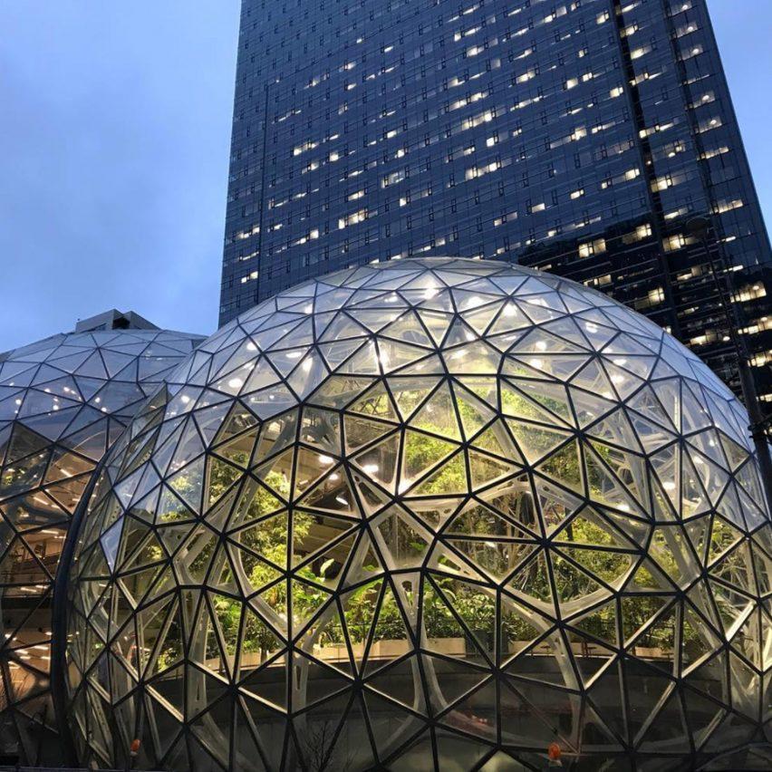 Spherical architecture: Amazon Spheres, by NBBJ