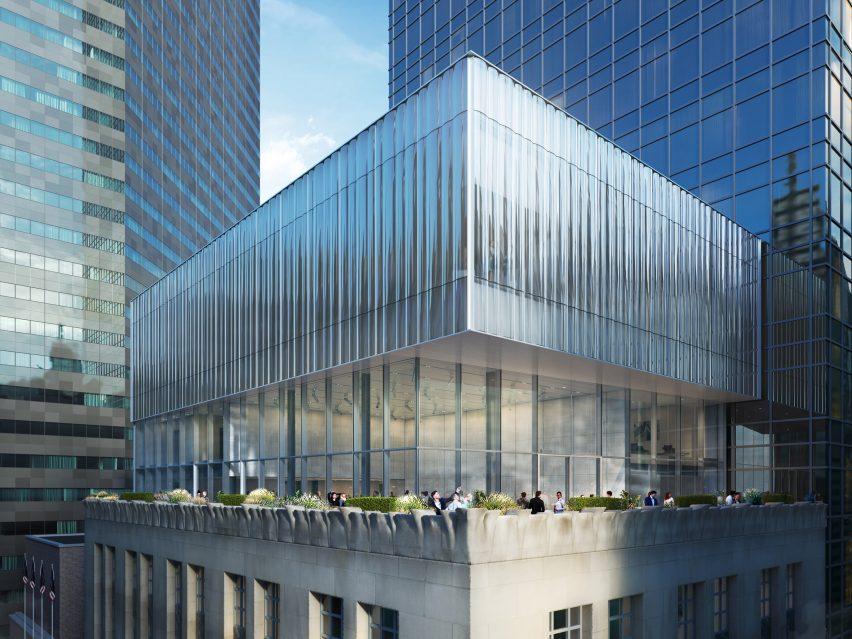 Tiffany & Co Flagship da OMA