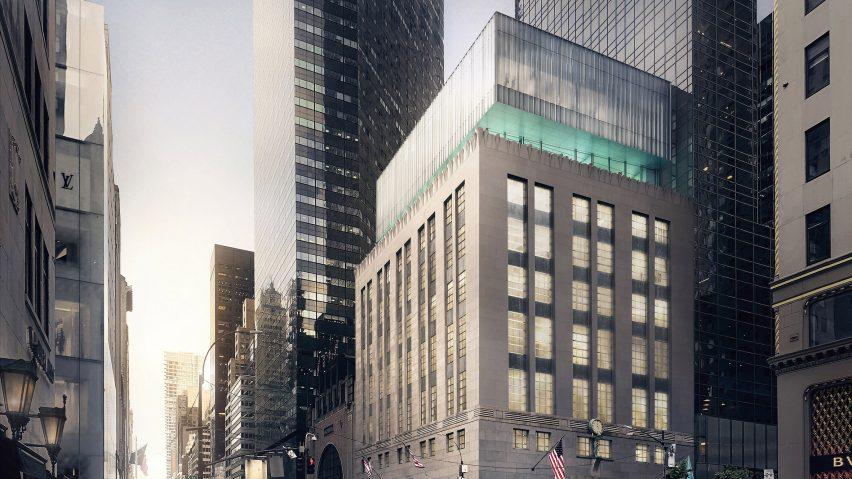 Tiffany & Co Flagship by OMA