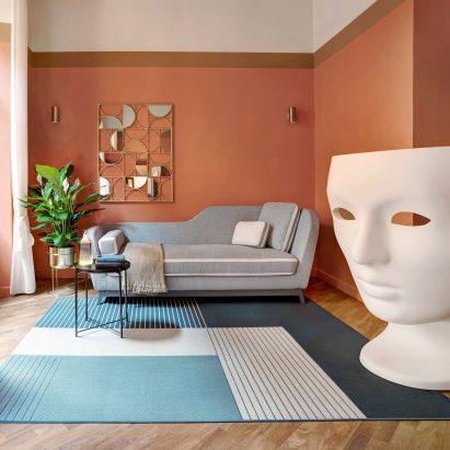 Trevi House apartment in Rome designed by Studio Venturoni