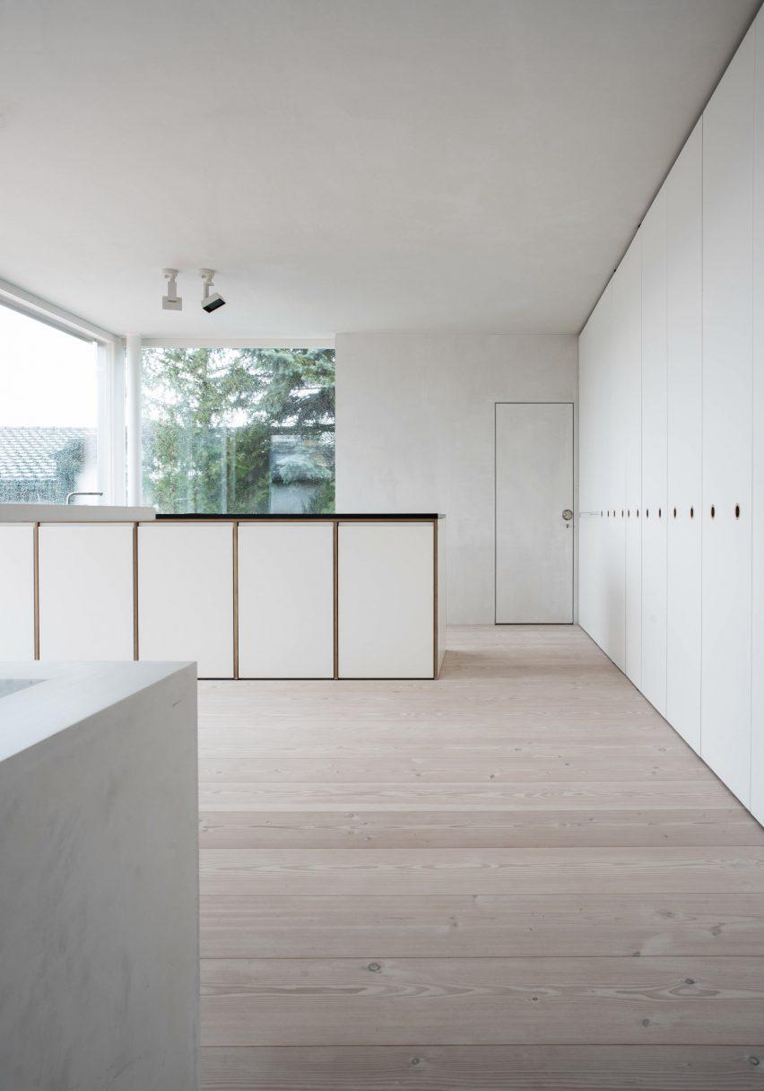 Casa TS-H_01 na Suíça projetada por Tom Strala