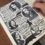 Illustrator Vic Lee publishes hand-drawn Corona Diary documenting his lockdown experience