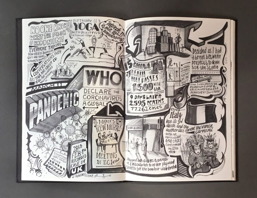 Corona Diary by Vic Lee