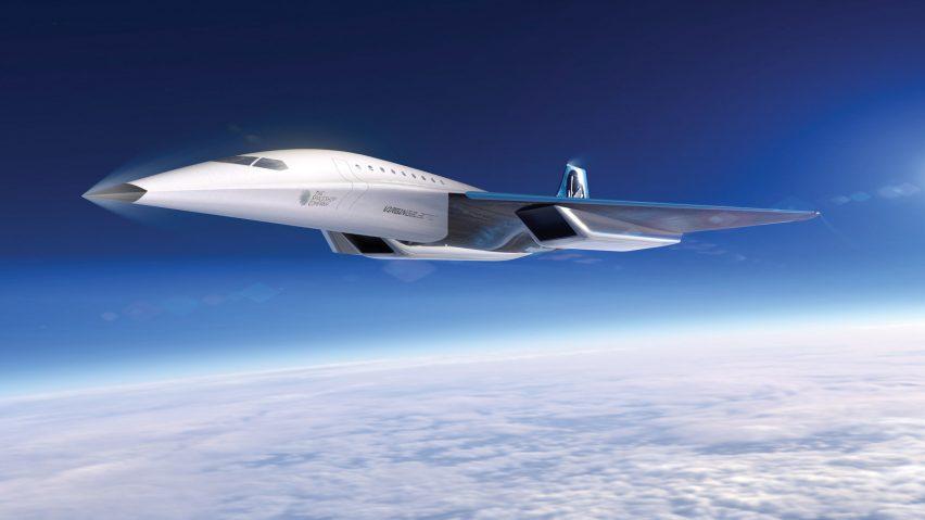 Virgin Galactic reveals high-speed Mach 3 aircraft design