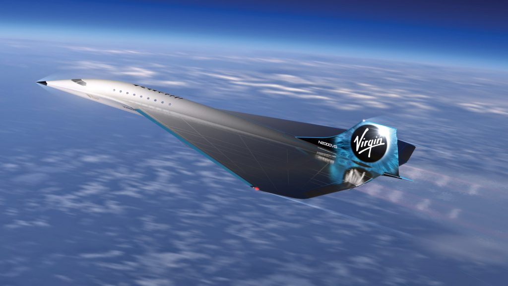 Virgin Galactic reveals high-speed Mach 3 aircraft design