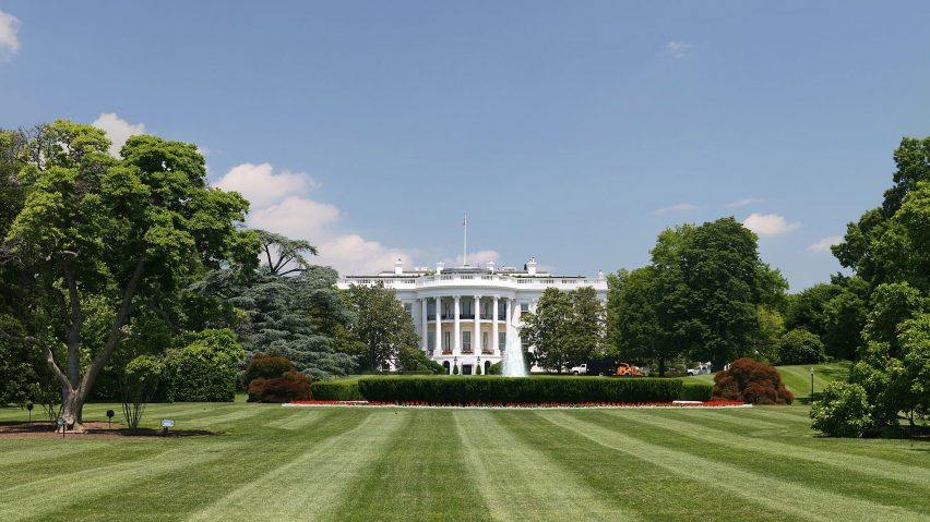 Christmas White House 2020 Yep Melania Trump criticised for White House Rose Garden renovation
