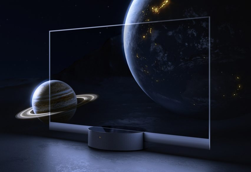 "Xiaomi launches ""world's first"" mass-produced transparent TV"