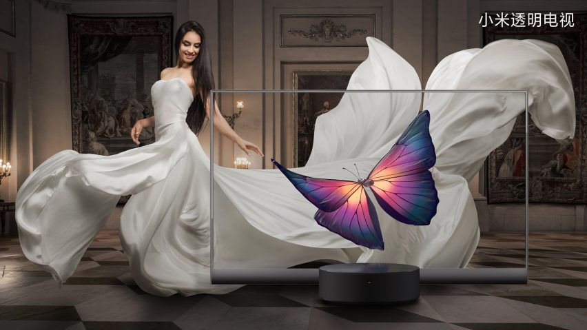 """Xiaomi launches """"world's first"""" mass-produced transparent TV"""