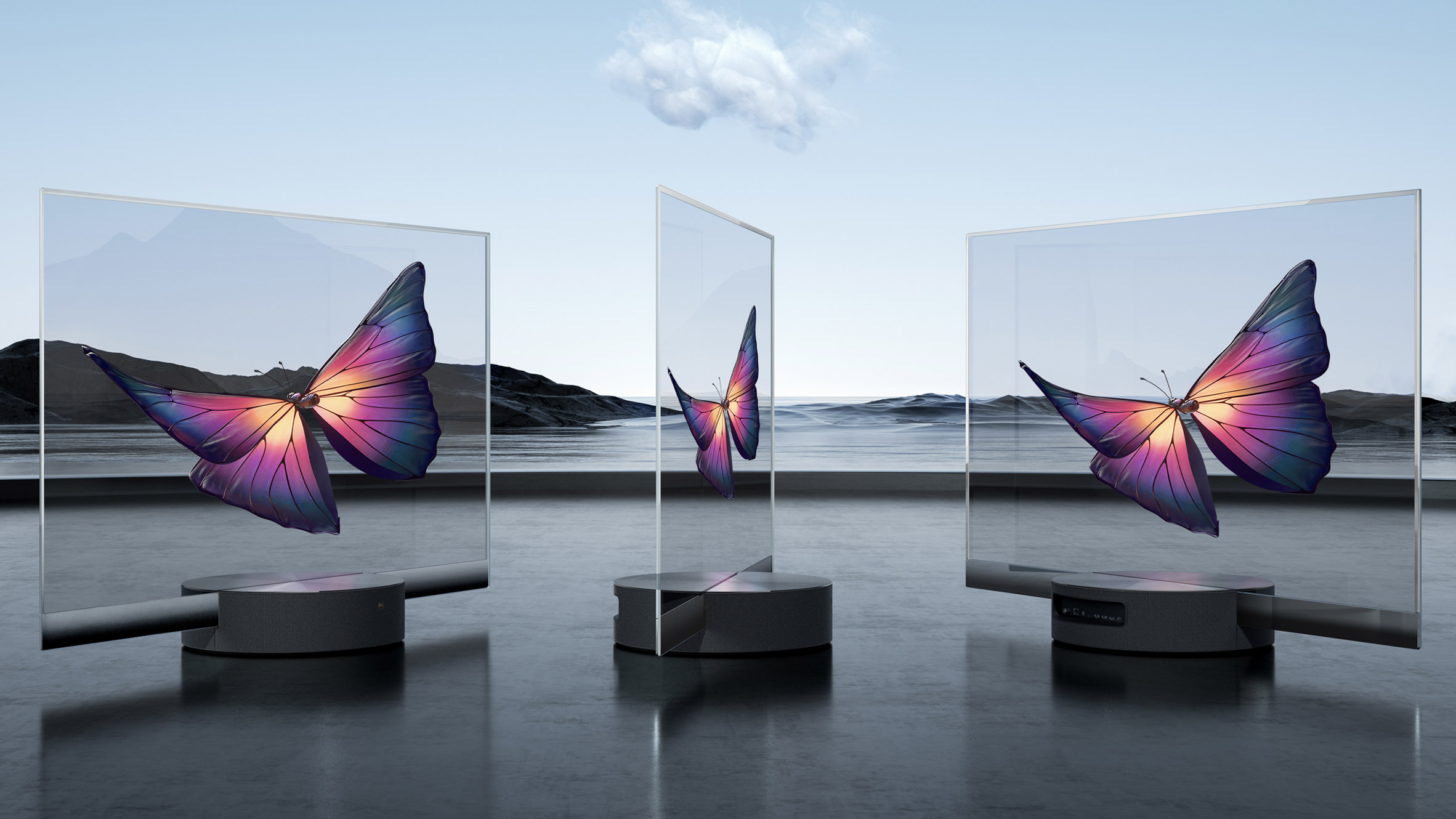 Xiaomi launches world's first mass-produced transparent TV