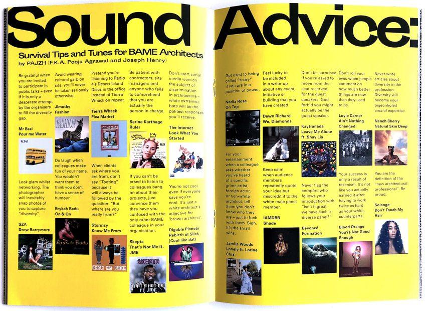 Sound Advice interview