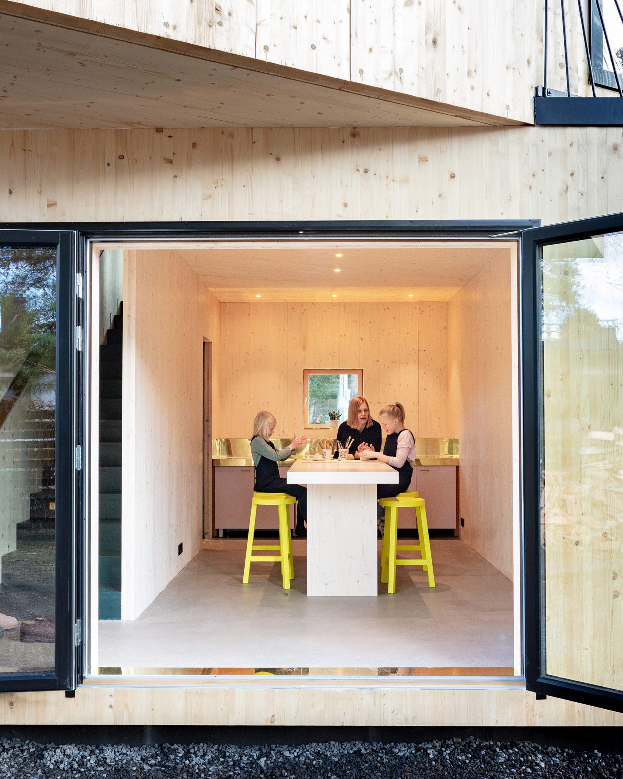 12 studio by Ortraum Architects in Helsinki, Finland