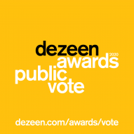 Vote for your favourite projects and studios in the Dezeen Awards 2020 public vote