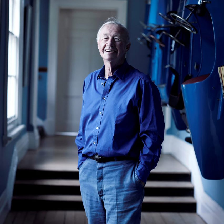 Sir Terence Conran, founder of Habitat, portrait