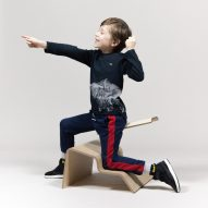 Studio Lancelot's Active Classroom seating encourages children to move