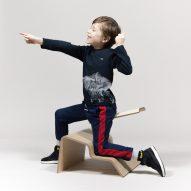 Studio Lancelot's Active Classroom seating encourages children to move