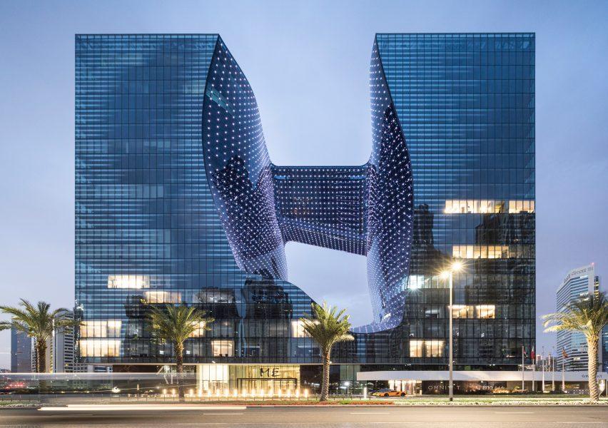 Opus hotel is on the AHEAD MEA awards 2020 shortlist