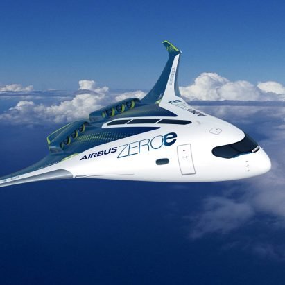 Airbus' concept design for zero-emission aircraft