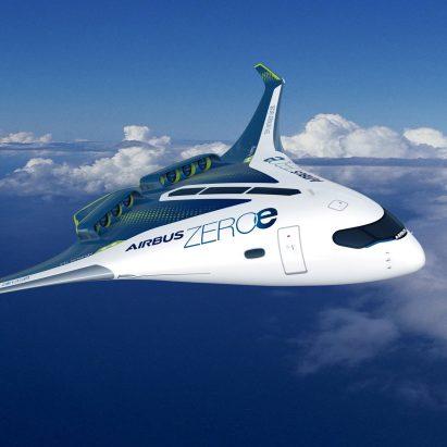 Airbus' concept design for zero-emission aircraft