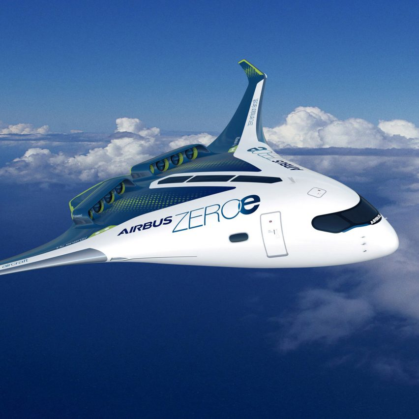 Airbus unveils concept for world's first zero-emission commercial aircraft