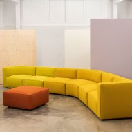 Dado sofa system by Alfredo Häberli for Andreu World