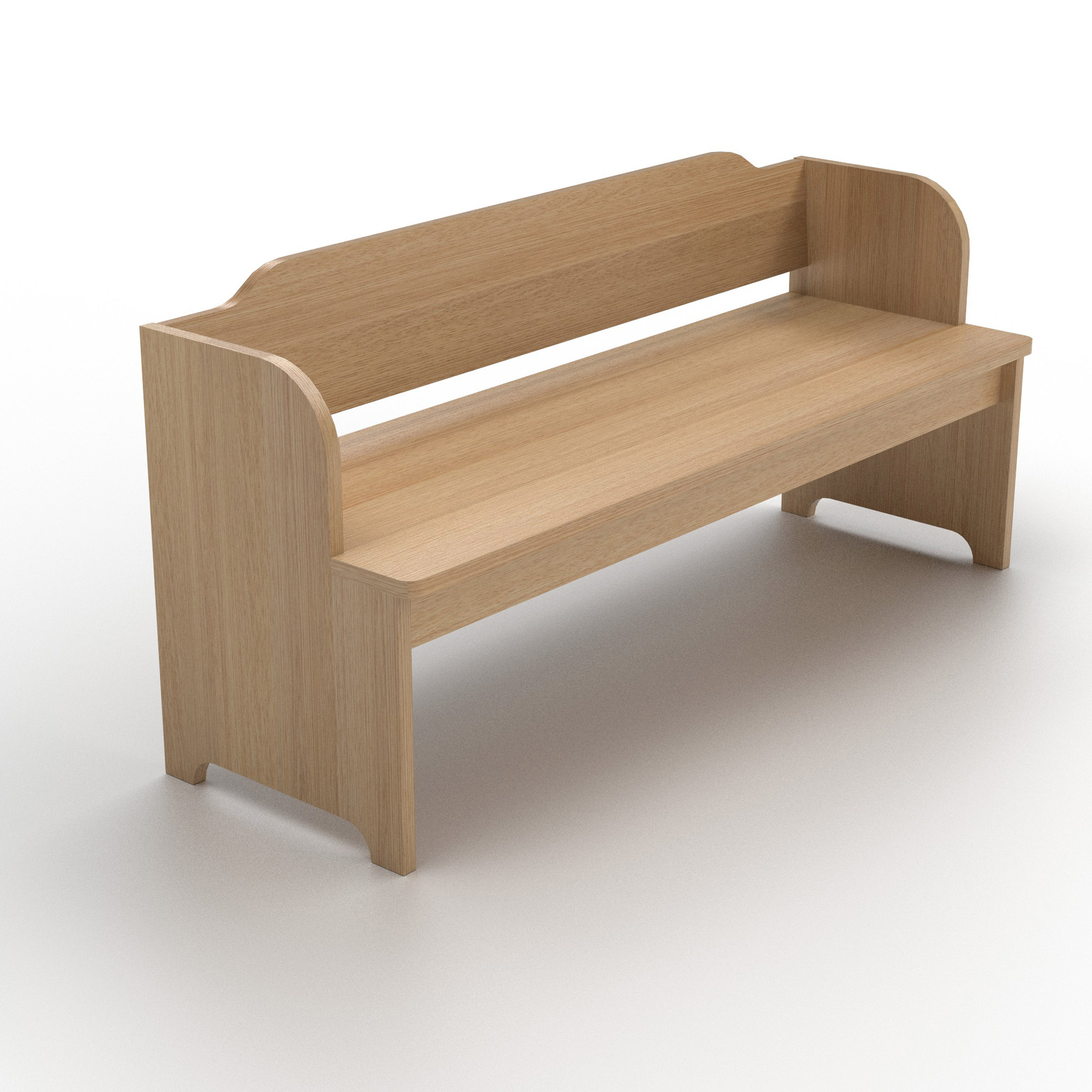 Settle bench as part of Modern Farmhouse collection for Another Country