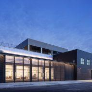 Barry X Ball studio by Andrew Berman Architect