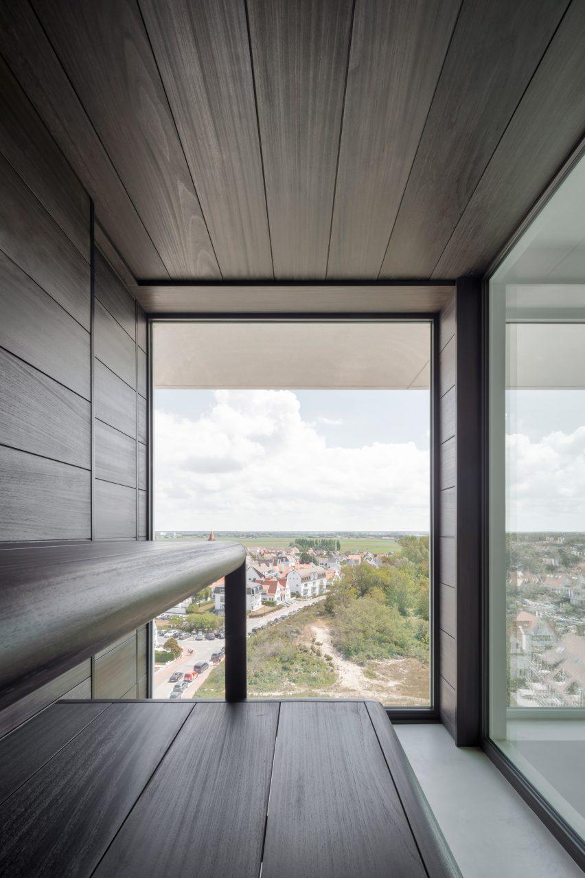 Apartment in Belgium includes sauna