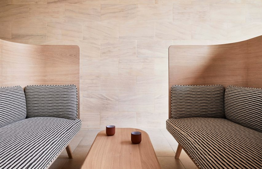High Sofas from the sustainable Sage collection by Benchmark