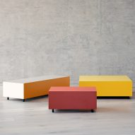 Bloc side tables by Pauline Deltour for Established & Sons