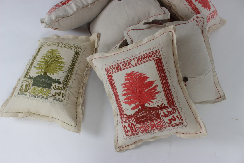 Cushions by Bokja, Beirut